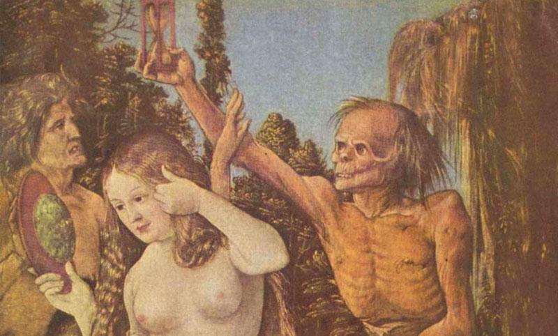 Las tres edades de la mujer y la muerte